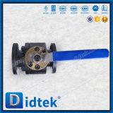 Válvula de esfera da flutuação do aço inoxidável A105 da alavanca de Didtek para a engenharia