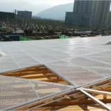Плакирование сетки скачками типа алюминиевое для здания снаружи Using