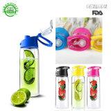 De goedkope Fabriek van de Kop van de Sporten van de Infusie van het Fruit van het Embleem van de Douane Plastic direct
