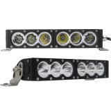 Los accesorios 4X4 del coche de Ddl-H-60W parte la barra de aluminio 12 de la cubierta 24 luces campo a través del carro LED de voltio