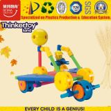 Giocattolo di plastica popolare di puzzle della geometria dell'automobile dei 2016 nuovo blocchetti dei bambini di vendita superiore