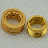 CNCの機械化の回転アルミニウム製品