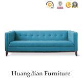 Sofa fait sur commande de tissu de meubles modernes de salle de séjour (HD536)