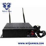 6本のアンテナ手持ち型の電話妨害機及びWiFiの妨害機及びGPSの妨害機