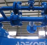 공기에 의하여 냉각되는 무열 재생하는 흡착 CNG 가스 건조기