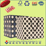 Bufandas de seda que empaquetan la bolsa de papel