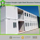 Tipo ad alta resistenza Camera della villa della struttura d'acciaio del contenitore