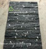 벽 꾸미거나 벽 클래딩을%s 까만 번개 규암 문화 돌