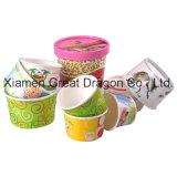 Бумажные стаканчики напитка 1.5-32 унций горячие и крышки (PC11013)