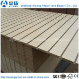 Kundenspezifisches Entwurfs-Pappel-Kern Slatwall Panel