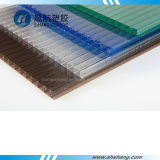 PC brillante Hollow Plastic Panel di Polycarbonate con Layer UV