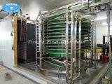 Gewundene schnelle Nahrungsmittelgefriermaschine mit CAS-Funktion