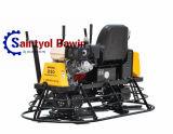 Mini giro sul giro concreto degli strumenti di rifinitura del Trowel di potere sul Trowel di potere del galleggiante