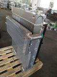 Dispositivo di raffreddamento di aria di alluminio raffreddato aria della carica del tubo di aletta