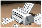 QS4手動名刺のカッター機械