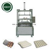 Hghy pequeña fábrica de productos de papel bandeja de huevos de línea de producción que hace la máquina