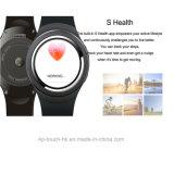 3G GPS Bluetooth de Slimme Telefoon van het Horloge met de Monitor van het Tarief van het Hart X3