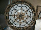 El patrón de mármol Waterjet Waterjet medallones, patrón de chorro de agua, el patrón de mármol