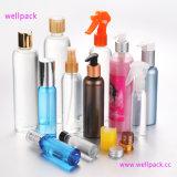 botella plástica del animal doméstico blanco 80ml con el rociador