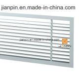 Gril linéaire en aluminium d'approvisionnement de barre