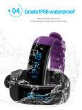 Nuevo Wristband impermeable superior dB03 de la aptitud de la pulsera del monitor de la presión arterial IP68 con reemplazable