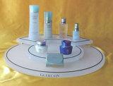 Présentoir acrylique noir de maquillage, présentoir cosmétique de Mac de maquillage