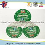 220ml de beschikbare Plastic Dekking van de Aluminiumfolie van de Kop voor Yoghurt