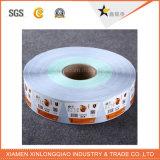 Servicio personalizado de Impresión de códigos de barras de papel adhesivo de impresión de etiquetas autoadhesivas