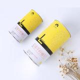 Manufactura de cilindros personalizado Embalaje Caja de papel Kraft Caja de papel para la alimentación