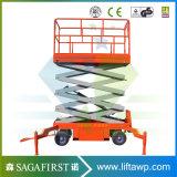 8m 10m 300kg de Elektrische Mobiele Hydraulische Lift van de Schaar met Ce