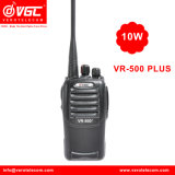 Walkietalkie em dois sentidos profissional do rádio 16CH de Vr-500plus 10watt VHF/UHF