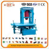 Máquina de fabricación de ladrillo de formación hidráulica de Hf-100t para el material de construcción, máquinas del bloque
