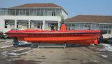 Aqualand 35feet 10.5m 섬유유리 엄밀한 팽창식 구조 또는 경비 또는 군 또는 늑골 모터 배 (rib1050)
