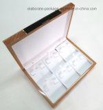 Caixa de presente de madeira luxuosa
