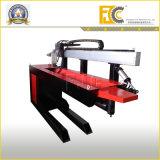Machine de soudure longitudinale pour le compactage d'air