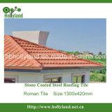 Плитка крыши металла алюминиевого камня цинка стального Coated (тип Rooman)