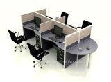Station de travail moderne 4 places de compartiment bureautique (HF-YZ060)