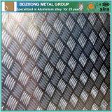 6061 peso Checkered de alumínio da placa e da folha