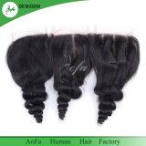 Onda solta o cabelo humano puro saudáveis não transformados Encerramento