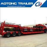 Venta caliente 3 Líneas de eje 6 remolques de camiones de plataforma baja