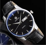Quartz Movement Leather Strap Men Sport Watch