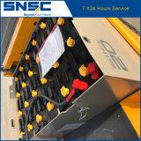 Carretilla elevadora de Snsc 2ton eléctrica con el mástil triple para la venta
