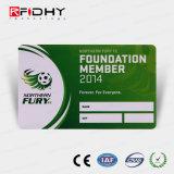 Impressão CMYK Cartão de Controle de Acesso de RFID com painel de assinatura