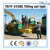 Y81f-3150 유압 금속 조각 짐짝으로 만들 압박 기계