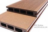 Revestimento de madeira composto natural contudo durável da plataforma