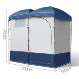 Foldableキャンプ浜のシャワーのテントの携帯用変更の避難所