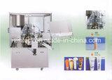 Plástico Tubo de llenado y sellado de la máquina con el interior de calefacción para los cosméticos, crema, pasta, pasta de dientes Embalaje