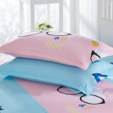 中国の卸売のディスパースの印刷ポリエステル羽毛布団カバー