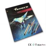 Impression bon marché de livret explicatif de brochure de livre de dos de papier de service d'impression de catalogue