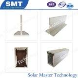 Concret 지붕 알루미늄 삼각형 태양 설치 선반